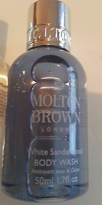 Molton Brown White Sandalwood Body Wash 50ml Travel Size