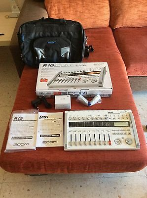Zoom R16 multitrack recorder/controller/audio interface (includes transport bag)