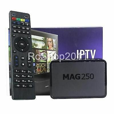GENUINE MAG250 IPTV Set Top Box,MAG 250, Remote Included!