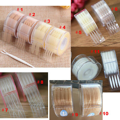 600/440Pcs Technical  Invisible Double Eyelid Tapes Eye Wide Narrow Sticker Tape