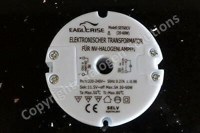 Rapid Post: Eaglerise SET60CV 60W halogen transformer New: 18 Month Warranty!