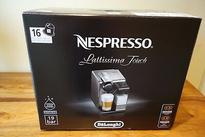 De'Longhi Nespresso EN550.B Lattissima Coffee Machine BLACK BNIB