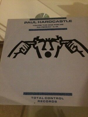 """Paul Hardcastle You're The One For Me 12"""" Vinyl"""