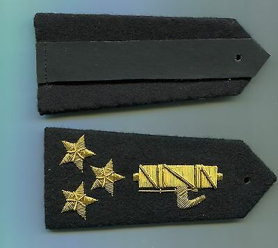 Italian Officers Captain Rank Boards of the Black Shirts