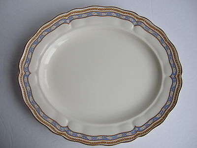 Grindley Royal Petal - Monmouth Scalloped Edge pattern oval serving platter