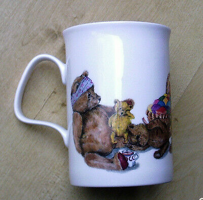 Roy Kirkham Teddy Bear Fine Bone China Mug 1992 Karen Buckley Design