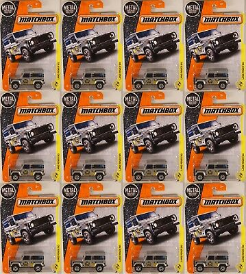 2017 issue Ninety NEW in BOX MATCHBOX POWER GRABS #48 Land Rover 90