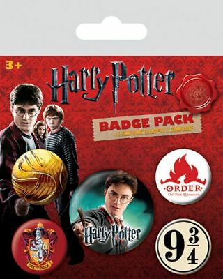 Harry Potter - Ansteck-Buttons Gryffindor