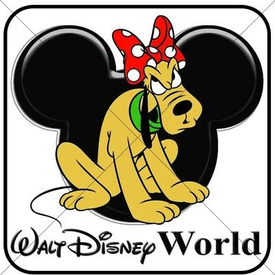 Disney Pluto personalized iron on transfer (choice of 1)