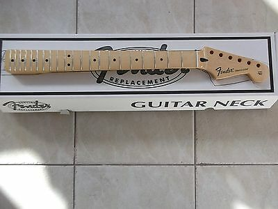 genuine fender stratocaster new replacement one piece maple neck 099-4602-921