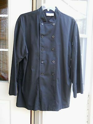 Chef Works Black Chef Coat ~ Xl ~ Nwot