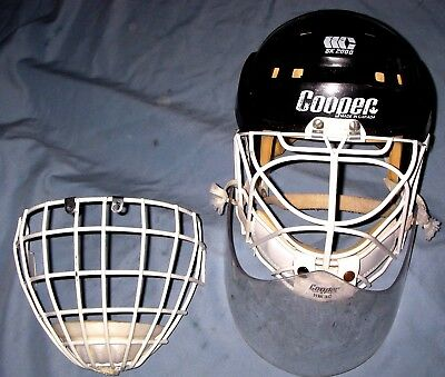 Cooper SK2000 Hockey Helmet Goalie Cat Eye Mask Cage & Throat Guard- EXTRA CAGE