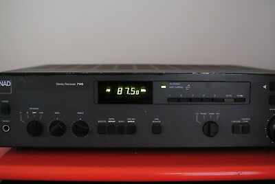 NAD 7140 Classic Stereo Receiver Amplifier (2 of 2)
