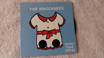 The Maccabees  About Your Dress  7 inch vinyl - Blue