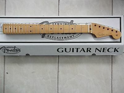 genuine fender stratocaster 50s series vintage replacement one piece maple neck