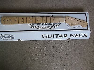 genuine fender stratocaster classic player 50s replacement one piece maple neck