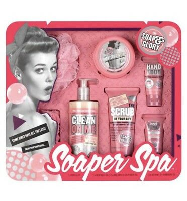 Soap And Glory Gift Set Diaper Spa Brand New