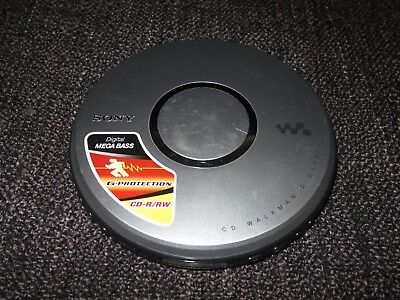 Sony D-Ej021 Cd Walkman With G-Protection Cd-R/rw Player Fully Working