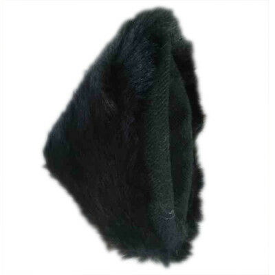 Cat Fox Long Fur Ears Anime Neko Costume Orecchiette Hair Clip Party black Y5C6