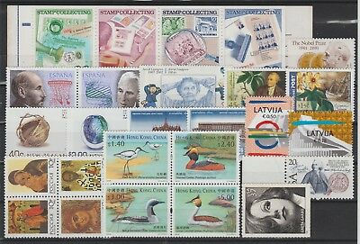 SWEDEN : Joint Issues. Australia Spain China Thailand Germany Russia +++ MNH.
