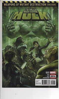 Totally Awesome Hulk #22 Nm/nm+ 1St Appearance Weapon H Wolverine 1St Print