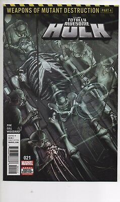 Totally Awesome Hulk #21 Nm/nm+  Weapons Of Mutant Destruction Part 4 Weapon H