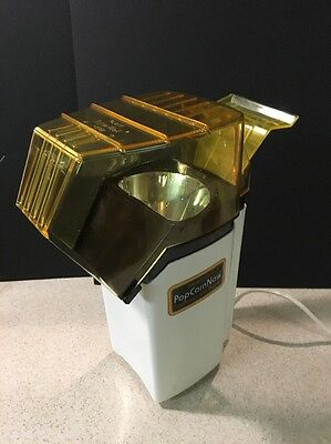 Rare Presto Popcorn Continuous Hot Air Popcorn Coffee Bean Roaster 0481008 1150W