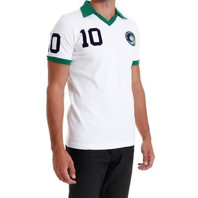New York Cosmos Umbro 1977 Pele #10 white home vintage shirt football jersey New