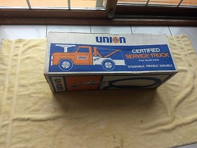 Rare Union 76 Gas Station Toy Ride On Service Truck Tow Truck Nos Sealed