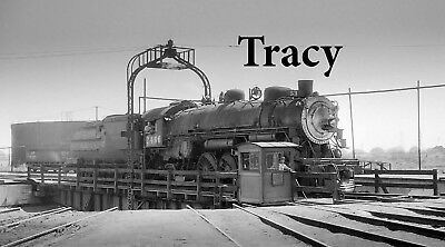 Southern Pacific Original Negative No 2466 Tracy Ca Roundhouse 1956