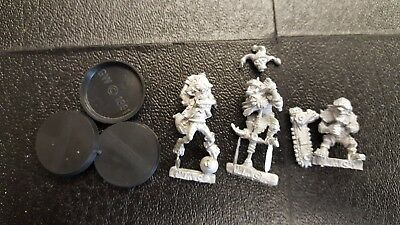Willy Miniatures Blood Bowl Goblin Secret Weapons x 3 Miniatures