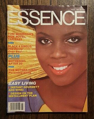 """Essence Magazine: Featuring Toni Morrison: Author Of """"Tar Baby"""" - May, 1981"""