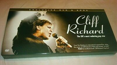 Cliff Richard dvd and book set