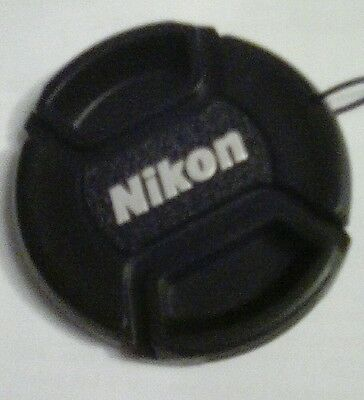 52mm replacement  lens cap for Nikon 18-55mm, 55-200mm and other lenses.