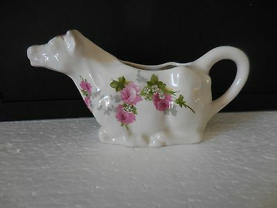 "vintage cow creamer 1980 Crownford Giftware ""Summer Memories"" PRICE CUT"