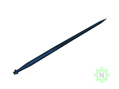 """49"""" Hay Bale Spear - Square Forged"""
