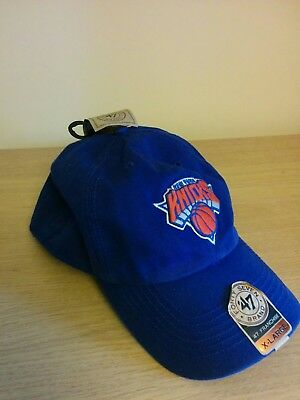 Official New York Knicks NBA Basketball NYC cap hat XL X-Large Blue BNWT