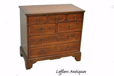 Cherry 7 Drawer Chippendale Chest By Milling Road Baker Furniture With Inlay