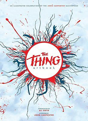 THE THING ARTBOOK (1982) John Carpenter PRINTED IN BLOOD Autographed SIGNED x12!