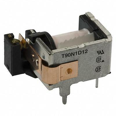 relay SPST 12V coil 240V 30A TE Conn T90N1D12-12 with optional dust cover
