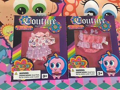 Neonate Nerlie Couture by Distroller Ksi-merito lot of 2 outfits accessory cloth