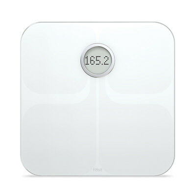 Scale Fitbit Aria Smart Wifi Body White Fat Bmi Sync Wireless Weight Automatic