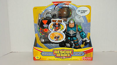 Rescue Heroes Mission Select Gil Gripper NEW