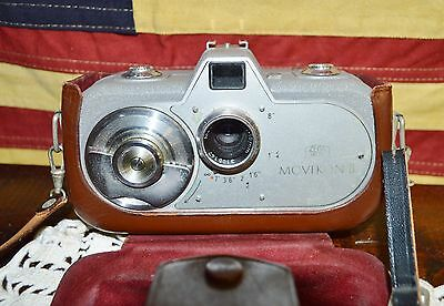 Vintage Zeiss Ikon Movikon 8 Movie Camera: Stuttgart Germany in Original Case