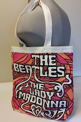The Beatles Lady Madonna Album Cover Art Cloth Tote Bag