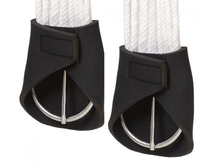 Tough 1 Neoprene Western Girth Cinch Ring Covers Pair Prevents Pinching New Tack