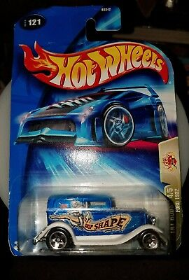 HOT WHEELS TAT RODS 4/5  FORD 1932  #121 [New]