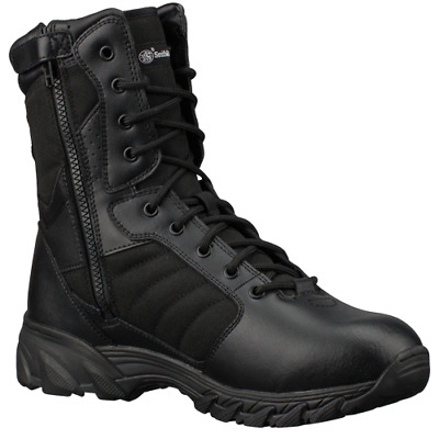 Smith And Wesson Footwear Breach 2.0 9 Side Zip Black 7 Wide
