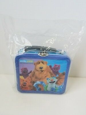 Bear In The Big Blue House Live Playhouse Disney Metal Lunchbox NEW Jim Henson