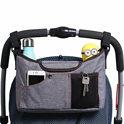 AMZNEVO Best Universal Baby Jogger Stroller Organiser Bag  Buggy Parent console